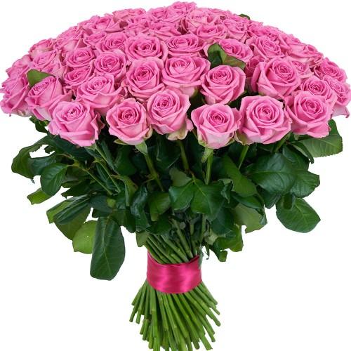 Купить на заказ Заказать Букет из 101 розовой розы с доставкой по Богровое  с доставкой в Боровом