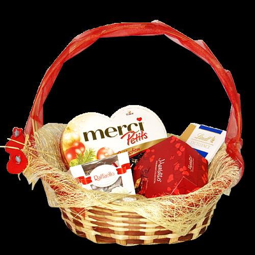 Купить на заказ Заказать Корзина сладостей 5 с доставкой по Богровое  с доставкой в Боровом