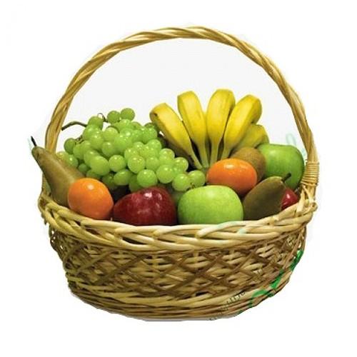Купить на заказ Заказать Корзина с фруктами 4 с доставкой по Богровое  с доставкой в Боровом