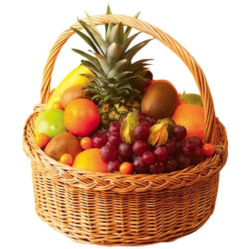 Купить на заказ Заказать Корзина с фруктами 2 с доставкой по Богровое  с доставкой в Боровом