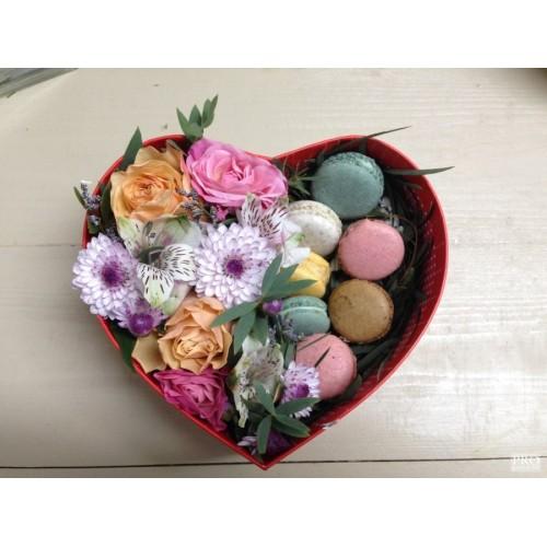 Купить на заказ Заказать Коробочка сердце 1 с доставкой по Богровое  с доставкой в Боровом