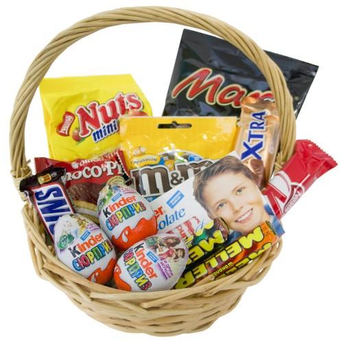 Купить на заказ Заказать Корзина сладостей 2 с доставкой по Богровое  с доставкой в Боровом