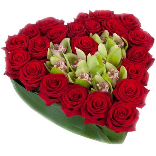 Купить на заказ Заказать Сердце 10 с доставкой по Богровое  с доставкой в Боровом