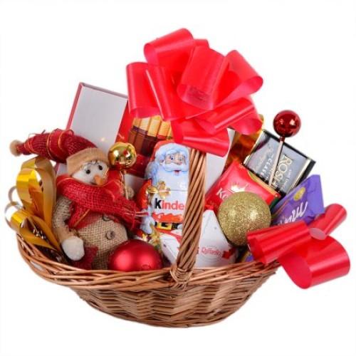 Купить на заказ Заказать Корзина с подарками с доставкой по Богровое  с доставкой в Боровом