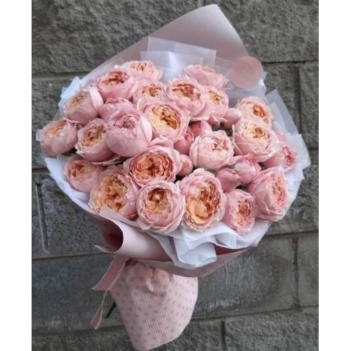 Купить на заказ Заказать 31 пионовидные розы с доставкой по Богровое  с доставкой в Боровом