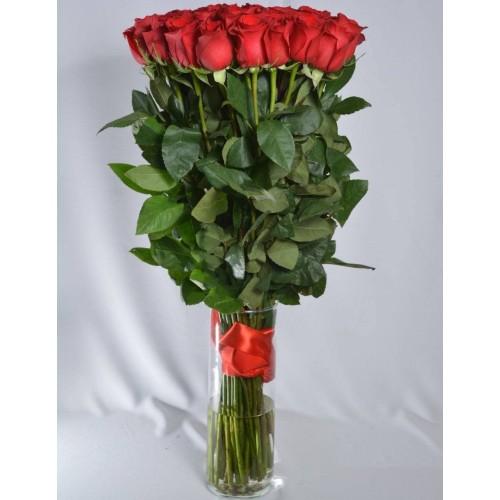 Купить на заказ Заказать 51 метровая роза с доставкой по Богровое  с доставкой в Боровом