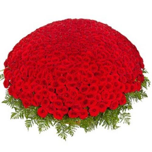 Купить на заказ Заказать 301  роза с доставкой по Богровое  с доставкой в Боровом