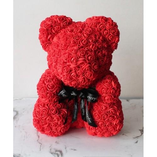 Купить на заказ Мишка из роз с доставкой в Боровом