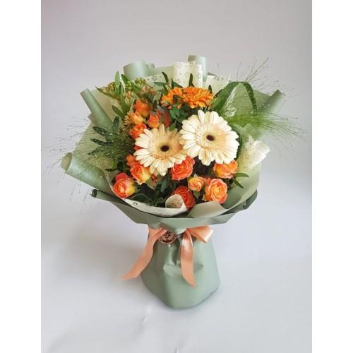 Купить на заказ Заказать Mini bouquet 3 с доставкой по Богровое  с доставкой в Боровом