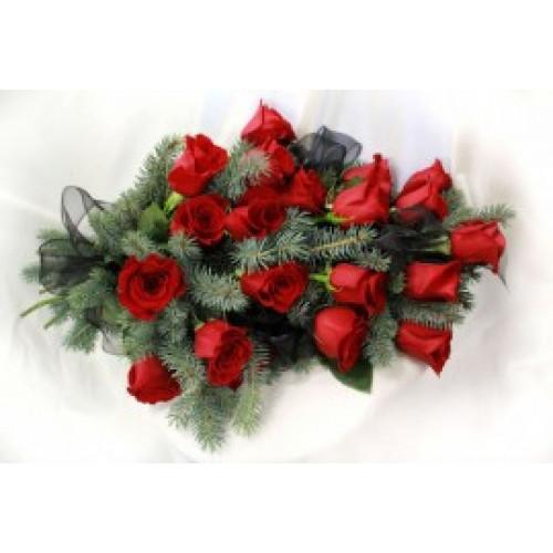 """Купить на заказ Заказать Букет """"Еловая роза"""" с доставкой по Богровое  с доставкой в Боровом"""