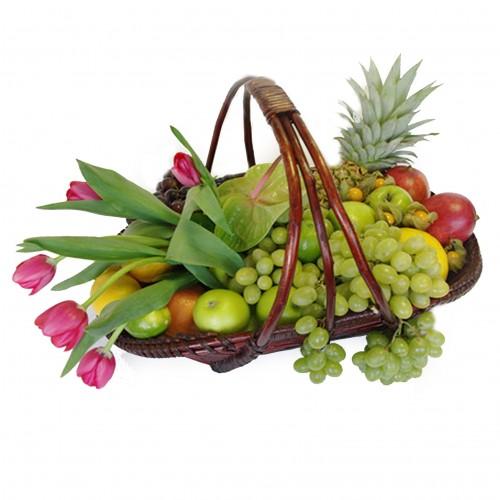 Купить на заказ Заказать Корзина с фруктами 3 с доставкой по Богровое  с доставкой в Боровом