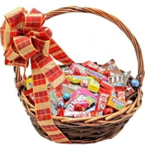 Купить на заказ Заказать Корзина сладостей 1 с доставкой по Богровое  с доставкой в Боровом